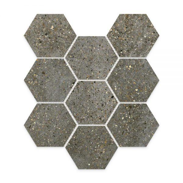 Betonic_Charcoal_Hexagon_Mosaic