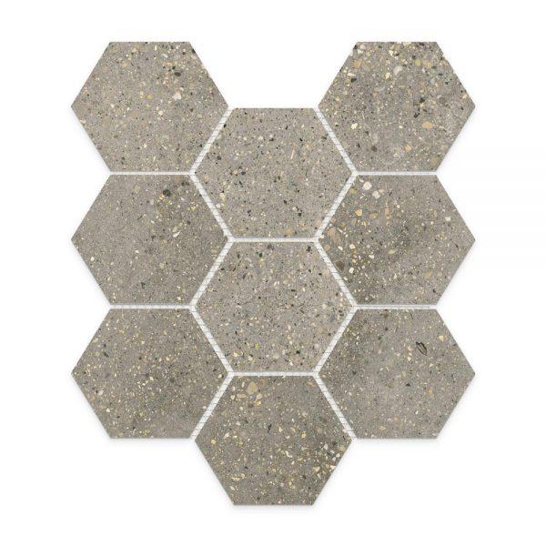 Betonic_Dark-Grey_Hexagon_Mosaic