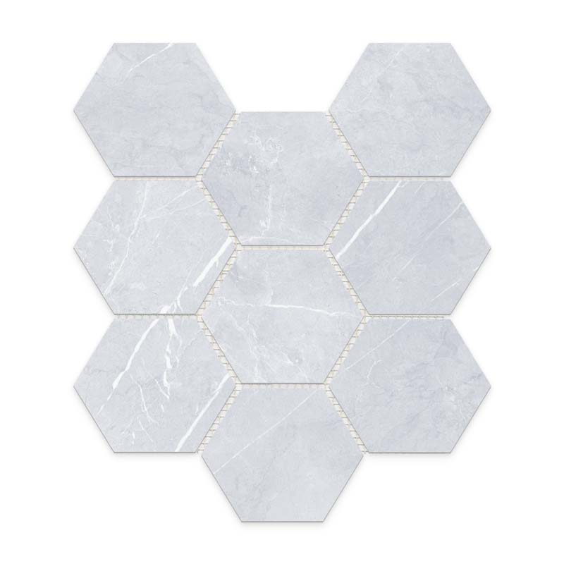 Bracca_Bianco_Hexagon_Mosaic