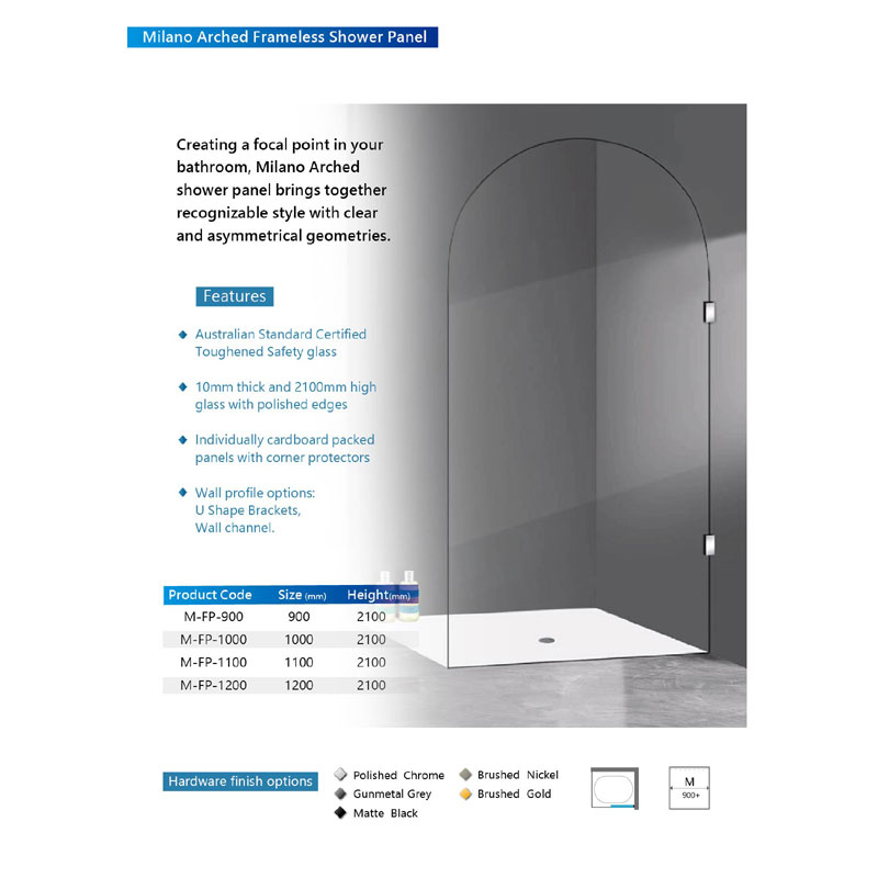 10MM-Milano-Arched-Frameless-shower-panel-2