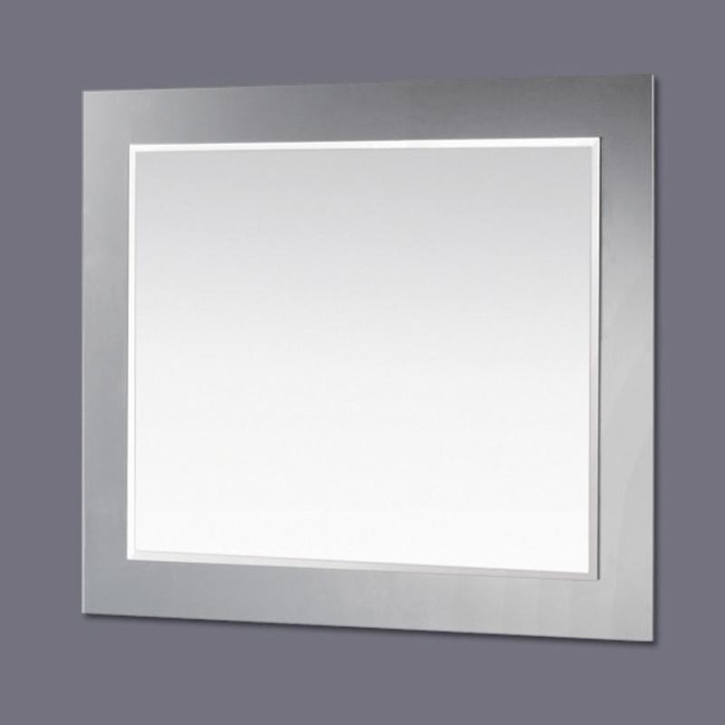 black-chrome-frame-mirror